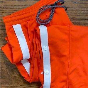 Orange Hunter for Target track pants